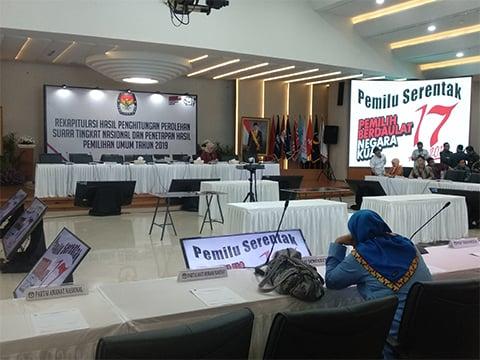 Hari Ini KPU Gelar Rapat Pleno Perolehan Suara Bengkulu, Kalsel dan Kalbar, Mungkin Bisa Lebih