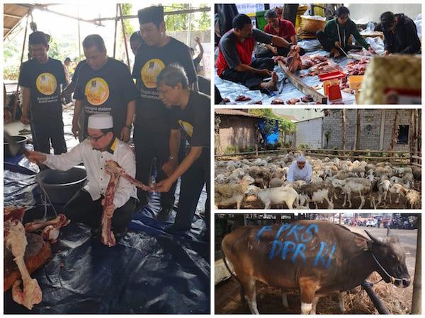 PKS Membahagiakan Rakyat Melalui Distribusi Daging Kurban