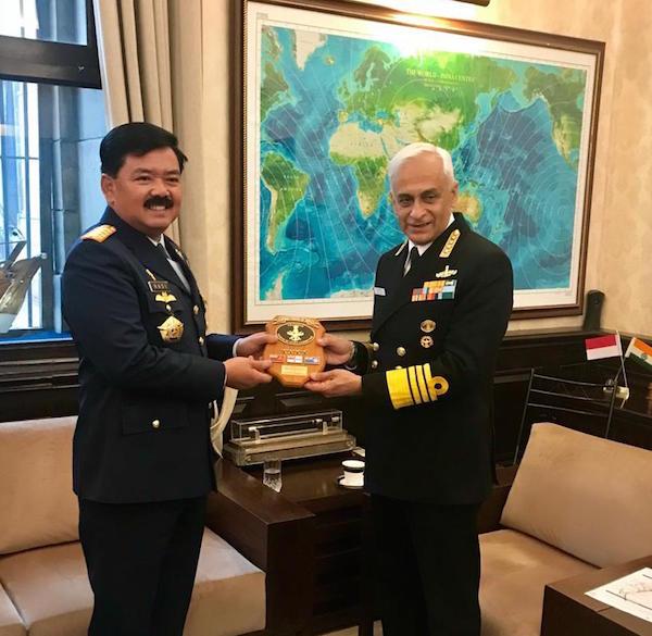 TNI dan Angkatan Bersenjata India Proyeksikan Dua Target Tercapai