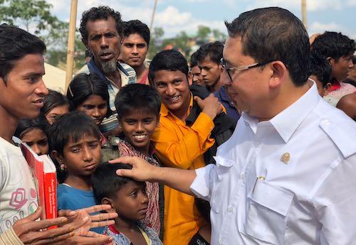 Fadli Zon Blusukan di Kamp Rohingya, Begini Ceritanya