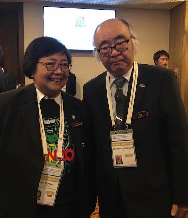 Menteri Siti Nurbaya Sampaikan Langkah Sistematis Indonesia di Sektor LH dan Energi