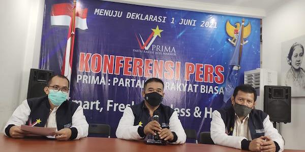 PRIMA Dideklarasikan 1 Juni, Lukman: Harapan Baru Rakyat Indonesia di Pemilu 2024