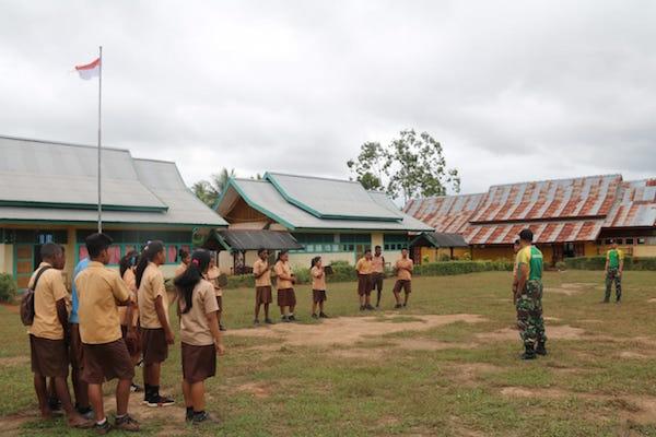 Prajurit TNI di Perbatasan RI - PNG Patut Mendapat Penghargaan
