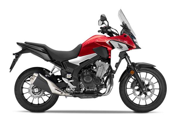 Honda Perbarui 4 Moge 500 cc Sekaligus, Kode Penetrasi