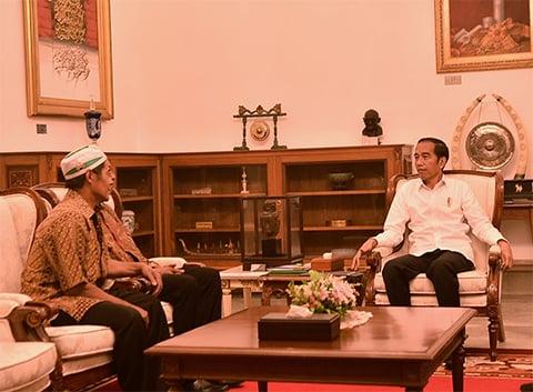 Jokowi Undang Pedagang Kopi yang jadi Korban Penjarahan saat Kerusuhan 22 Mei