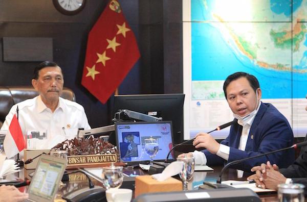 DPD RI dan Menko Maritim Membahas Percepatan Infrastruktur di Daerah