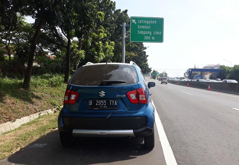 Geber Suzuki Ignis dari Jakarta ke Semarang, Siapa Bilang Gak Asyik?