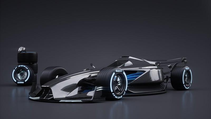 Gambaran Mobil Balap F1 Masa Depan