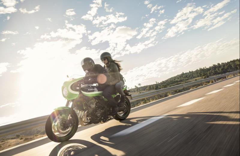 Kawasaki Z900RS dan Z900RS Cafe Dibalut Warna Baru