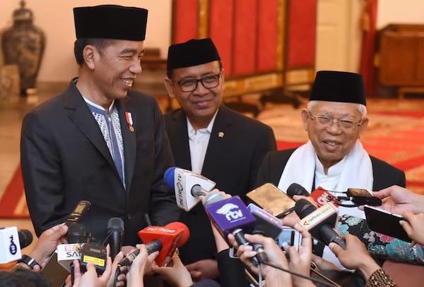 Saat Memperingati Maulid Nabi di Istana, Wapres Ma'ruf Amin Dapat Mandat dari Jokowi