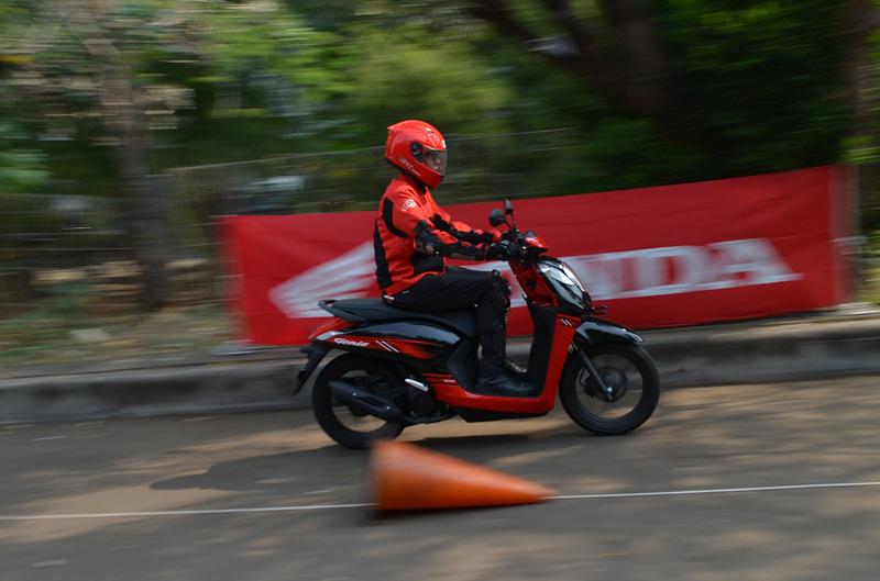 Test Ride Honda Genio: Mesin dan Rangka Baru Bikin Lincah