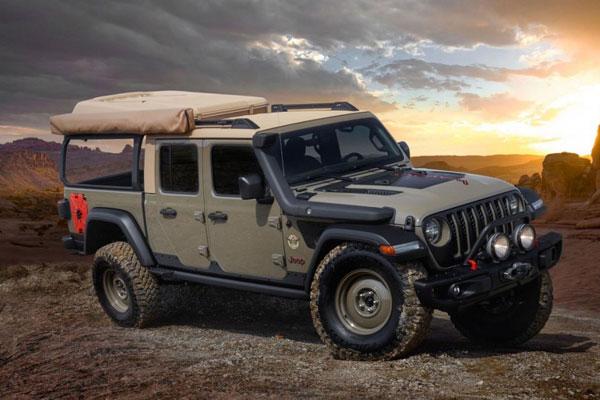 6 Konsep Modifikasi Jeep dengan Banyak Karakter Petualangan