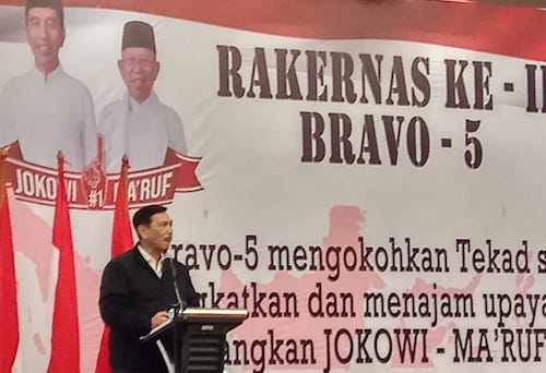 Ingin Jokowi - Ma'ruf Berjaya di Seluruh Provinsi, Bravo 5 Genjot Militansi