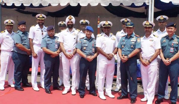 Tiga Kapal Perang India Berlabuh di Pelabuhan Jakarta