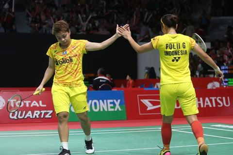 Sukacita Greysia / Apriyani Tembus Perempat Final Indonesia Masters