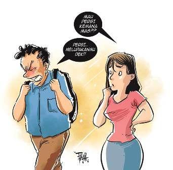 Istri tak Sungkan Teleponan dengan Pria Lain di Depan Suami