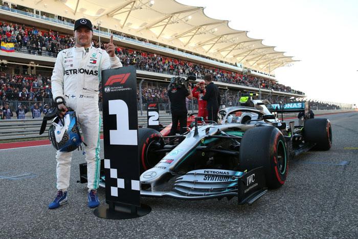 F1 2019 Amerika Serikat: Bottas Podium, Hamilton Juara Dunia