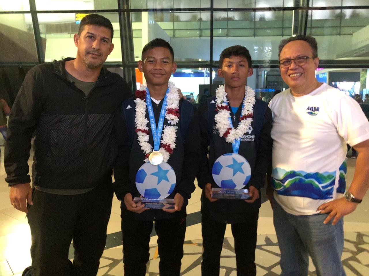 Tim U-12 Indonesia Posisi Keempat Danone Nations Cup 2019