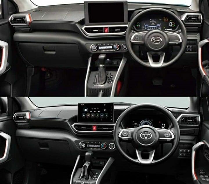 Toyota Raize dan Daihatsu Rocky, Kembar Tidak Identik
