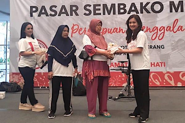 Ikhtiar Perempuan Jenggala agar Jokowi - Ma'ruf Berjaya di Tangerang Raya