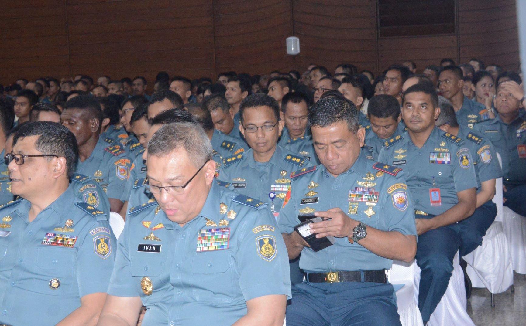 Keluarga Besar TNI AL Wilayah Jakarta Gelar Perayaan Natal Bersama