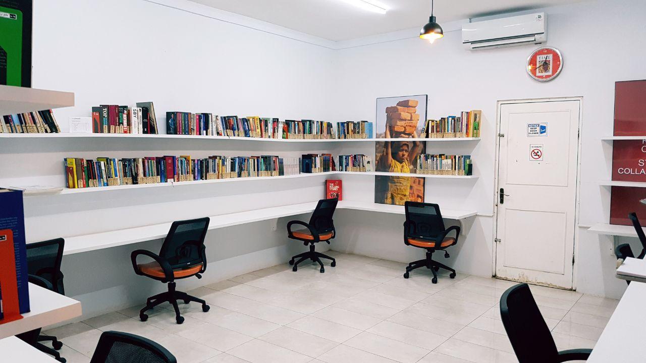Hadirkan Ruang Hampa demi Ketenangan Bekerja dan Membaca
