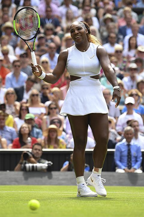 Kamu Memang Sulit Ditaklukkan, Serena
