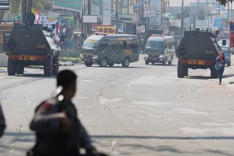 Mencekam! Kerusuhan di Mako Brimob Makan Korban