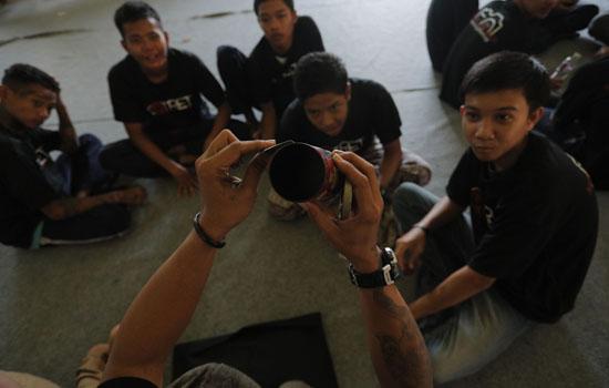 Komunitas Taman Potret Beri Pelatihan pada Penghuni Lapas Anak Tangerang