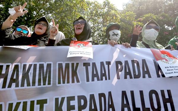 Lihat, Sudah Ada Aksi Minta MK Diskualifikasi Jokowi – Ma'ruf
