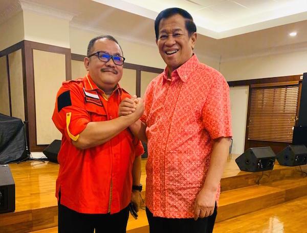 Bersilaturahmi dengan Agum Gumelar, Ali Wongso: Perlu UU Keamanan Nasional
