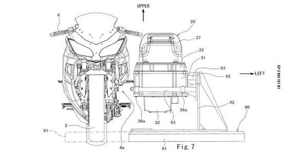 Kawasaki Mulai Menggoda dengan Dokumen Motor Listrik Berbasis Ninja