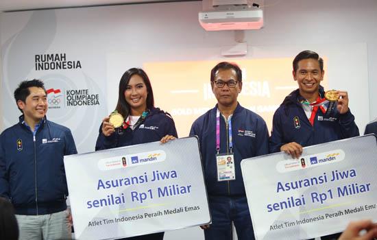 Beri Bonus AG 2018, AXA Mandiri Harap Atlet Kian Berprestasi