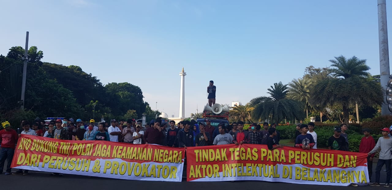 Dukung TNI/Polri Tindak Tegas Para Perusuh dan Provokator Aksi 21-22 Mei