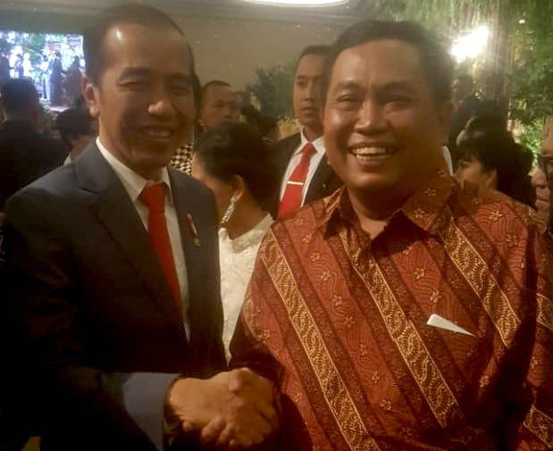 Semua Orang Tercengang Melihat Jokowi dan Arief Poyuono