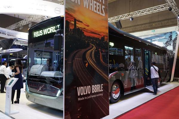Jagoan Baru Bus Volvo Mengaspal di Jakarta, Diklaim Optimalkan Biaya Operasional