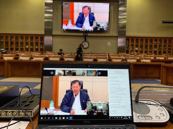 Begini Kesimpulan Rapat Kerja Komisi IX DPR Terkait Penanganan Covid-19