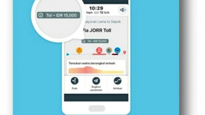 Waze Tawarkan Solusi Hemat Memilih Rute Perjalanan Via Tol
