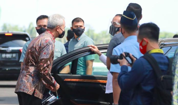 Pak Ganjar Bangga Sekali Melihat Karya Anak Bangsa di Bandara Yogyakarta International Airport