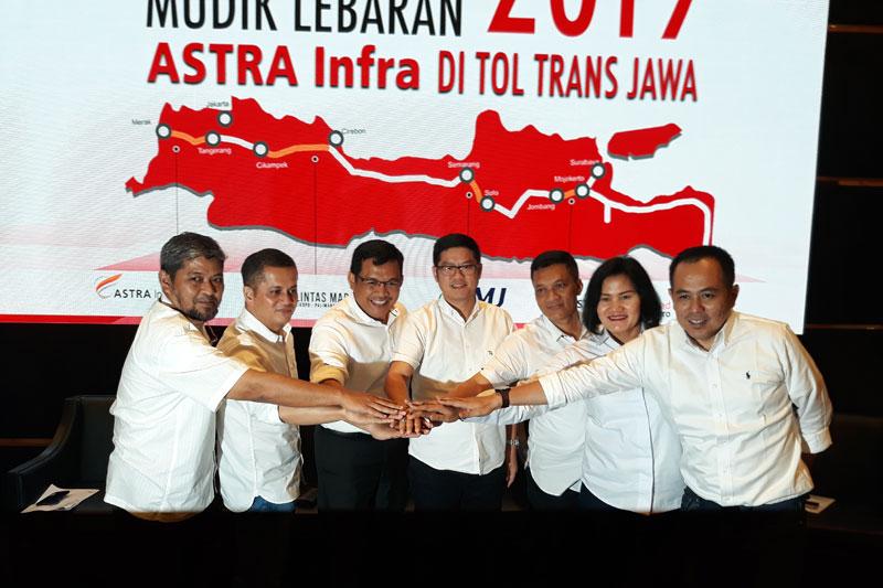 Astra Infra Maksimalkan Layanan dan Fasilitas Tol Trans Jawa Untuk Mudik 2019