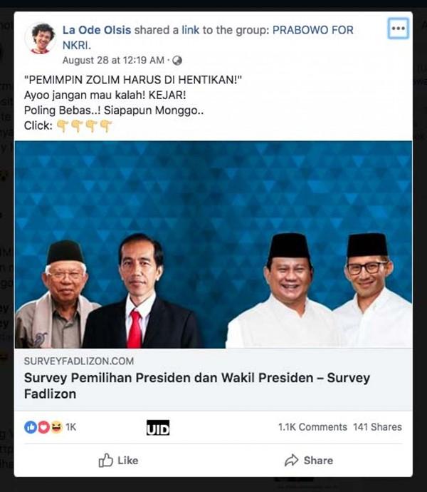 Prabowo dan Fadli Zon Diserang, Sadis Banget Bro!
