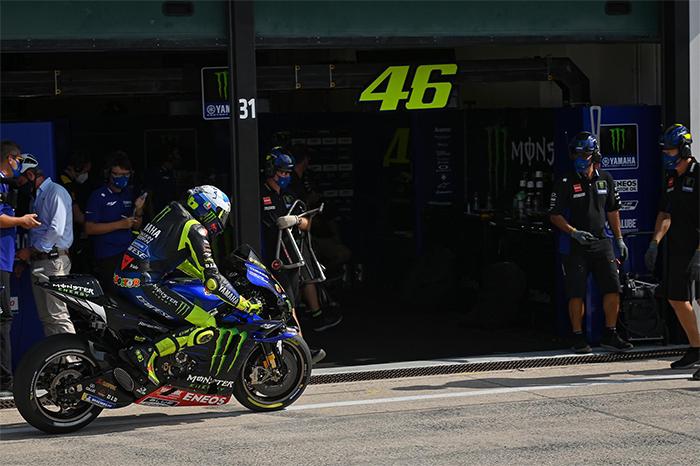 Di Sela Latihan MotoGP Catalunya, Valentino Rossi Ucap Salam Perpisahan