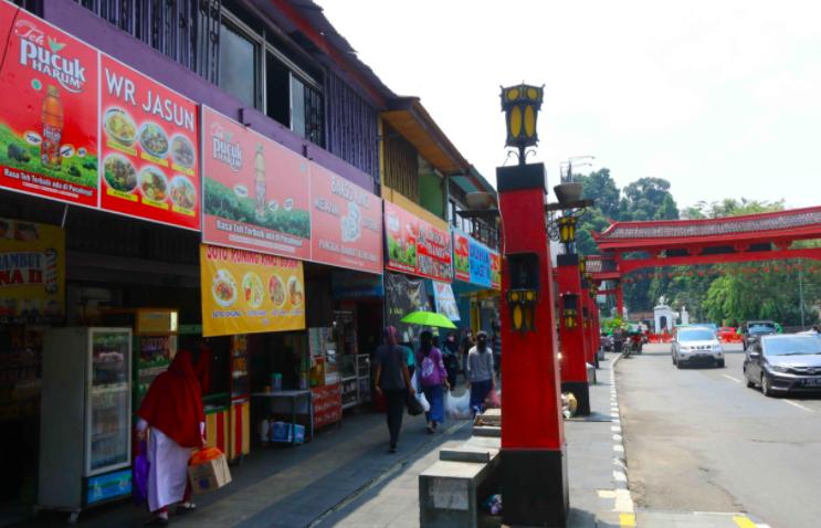 Teh Pucuk Harum Food Street, Lokasi Wisata Kuliner Baru di GOR Pajajaran Bogor