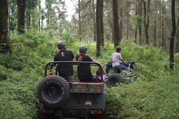 Lihat, Atraksi Off-Road di Wana Wisata Baturraden Memacu Andrenalin, Seru Banget