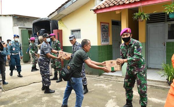 Kolonel Budi Mulyadi Bersama Pasukan Tiba di Lokasi, Reaksi Warga Wow