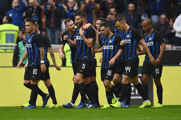 Hasil Lengkap Liga Italia: Inter Milan Paling Menakutkan