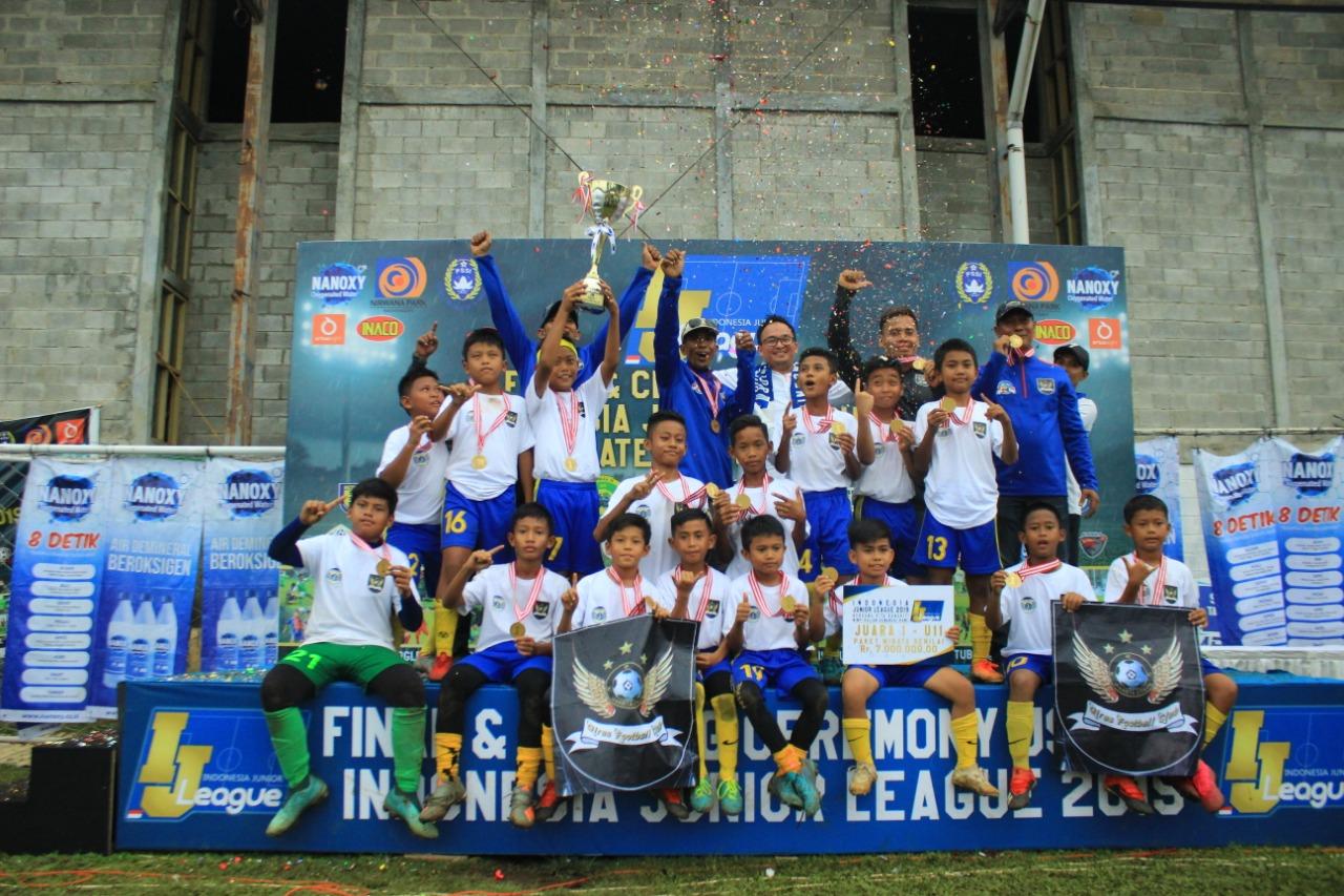Pelita Jaya dan Giras Soccer School Juara IJL 2019