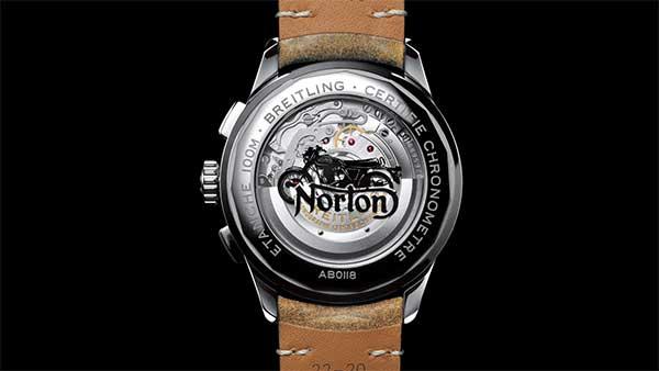 Tunggangan Retro nan Ciamik Kreasi Norton dan Breitling, Cuma 77 Unit di Dunia