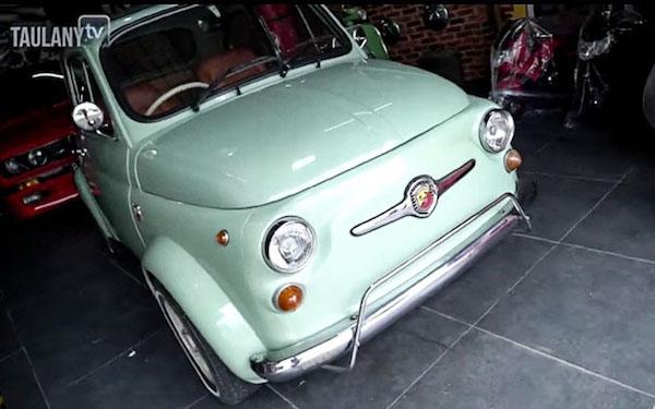 Dibelikan Fiat 500, Anak Andre Taulany Berpesan Begini