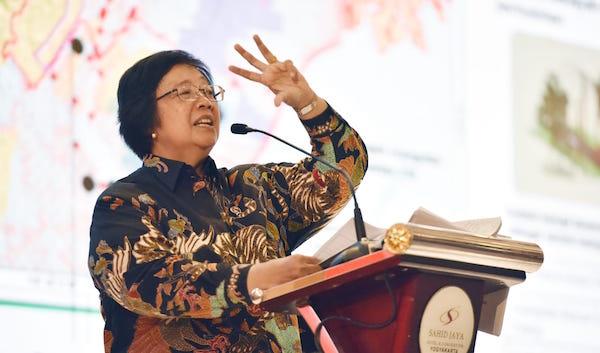 Menteri Siti: Jajaran LHK Pusat dan Daerah Harus Bersenyawa